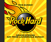 Rock Hard - tagged with grand opening