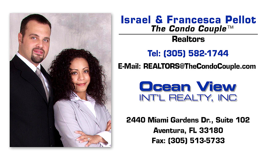 The Condo Couple Business Cards