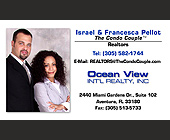 The Condo Couple Business Cards - tagged with israel