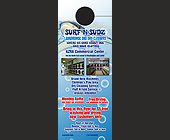Surf and Suds Laundromat - Doorhanger Graphic Designs