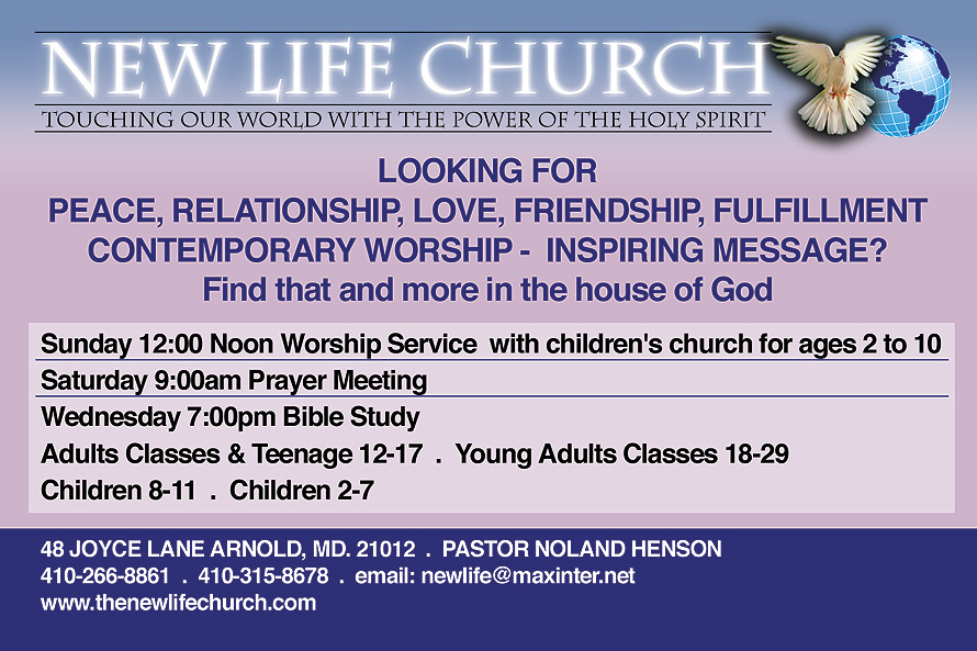 New Life Church Touching Our World