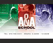 A & A School LLC - Family and Kids Graphic Designs