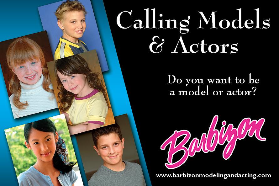 Barbizon Auditioning Child Models and Actors