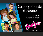 Barbizon Auditioning Child Models and Actors - tagged with call now