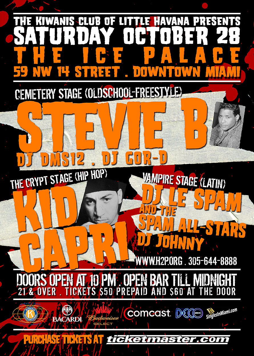 Ice Palace Halloween House Party