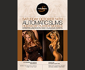 Automatic Slims Hosted  by Playboy Models - tagged with arrive early