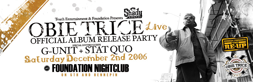 Obie Trice Live at Foundation Nightclub