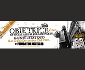 Obie Trice Live at Foundation Nightclub - Music Graphic Designs
