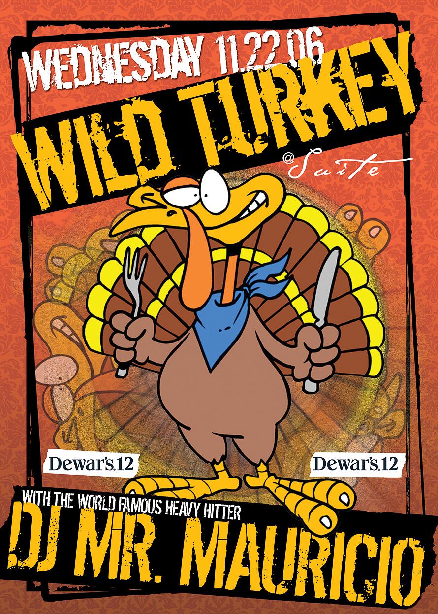 Wild Turkey Thursdays