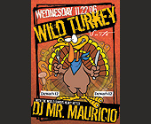 Wild Turkey Thursdays - Vice Graphic Designs
