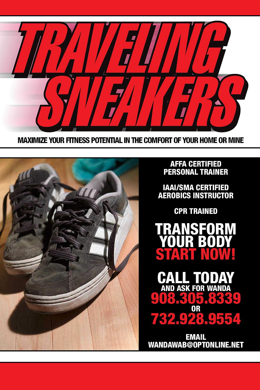 Traveling Sneakers