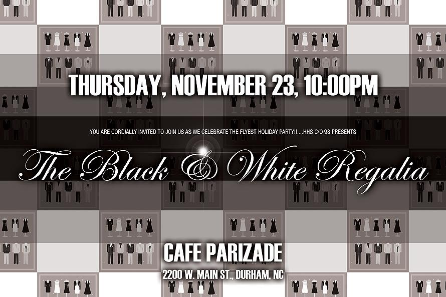Black and White Regalia