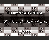 Black and White Regalia - Party