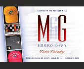M and G Embroidery - Retail