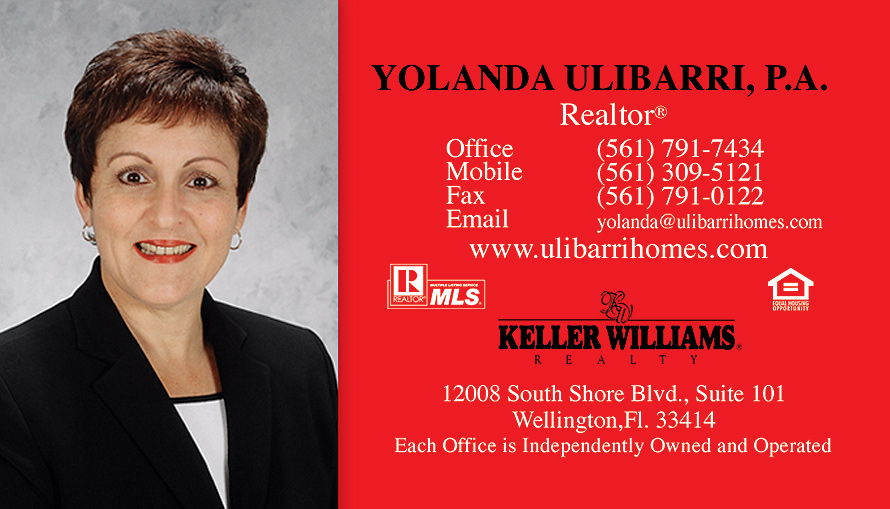 The Keller Williams Yolanda Ulibarri P.A. Realtor