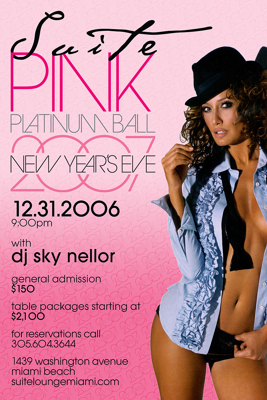 Pink Platinum Ball at Suite Nightclub