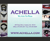 Achella We Aim To Pleas - created December 2006