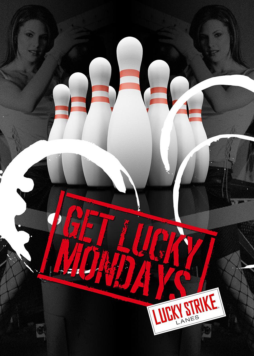 Get Lucky Mondays at Lucky Strike