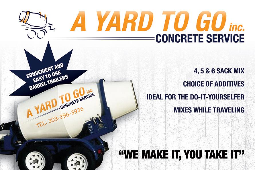 A Yard To Go Concrete Service