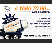 A Yard To Go Concrete Service  - Denver Graphic Designs