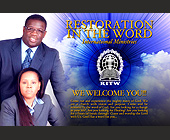 Restoration in the Word International Church - created February 2006
