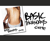 Basic Thursdays at Suite Nightclub - created March 2006