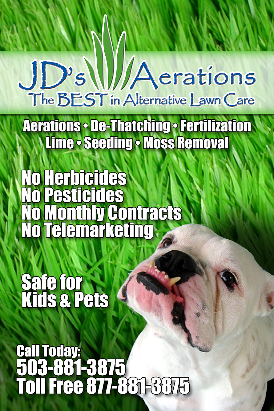 JD's Aerations Alternative Lawn Care