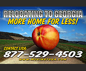 Relocating to Georgia More Home For Less - tagged with re