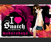 Wednesday's at Snatch Nightclub - tagged with dj juan mejia