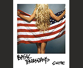 Basic Thursdays at Suite - tagged with american flag