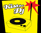 Kiss the DJ at Studio A - 1425x1424 graphic design