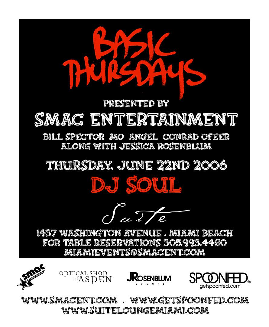 Basic Thursdays Presented by SMAC