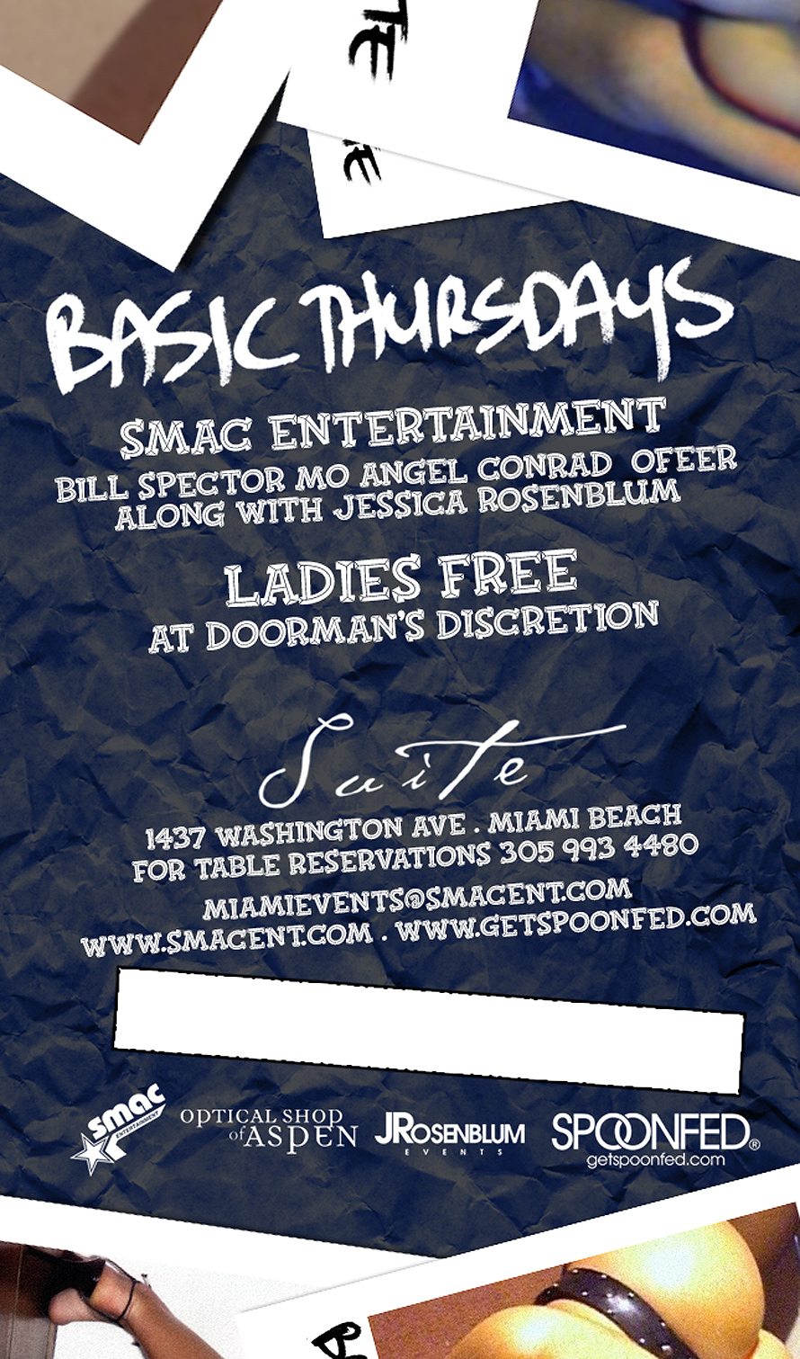 SMAC Entertainment Basic Thursdays
