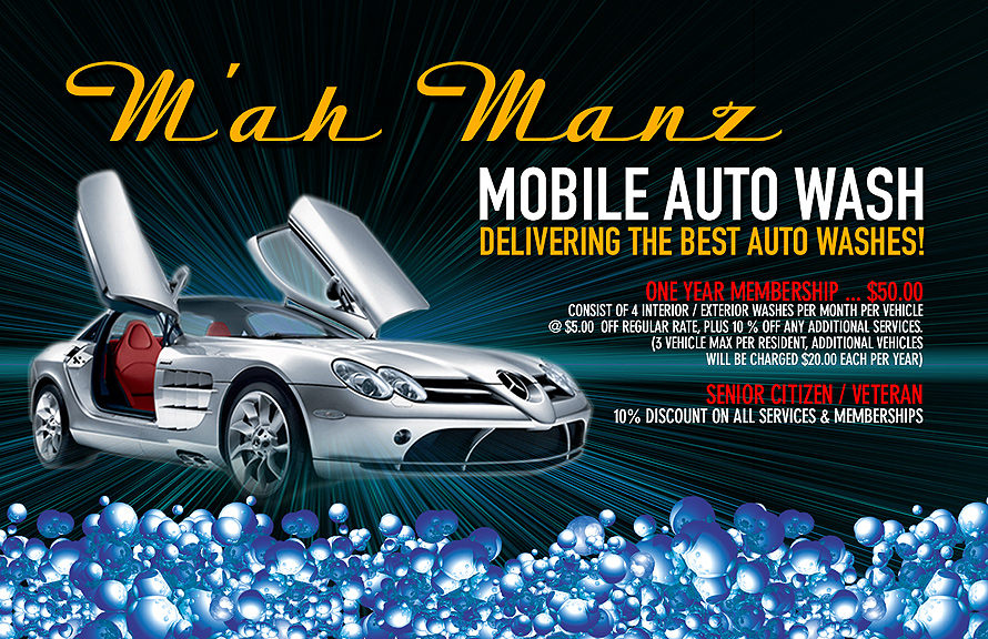 M'ah Manz Mobile Auto Wash