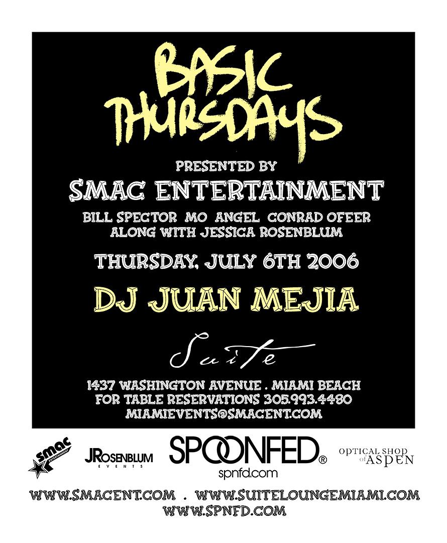Basic Thursdays at Suite