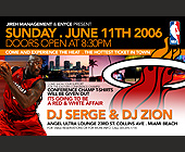 Jireh Management & Enyce Present Sunday - 1375x2125 graphic design