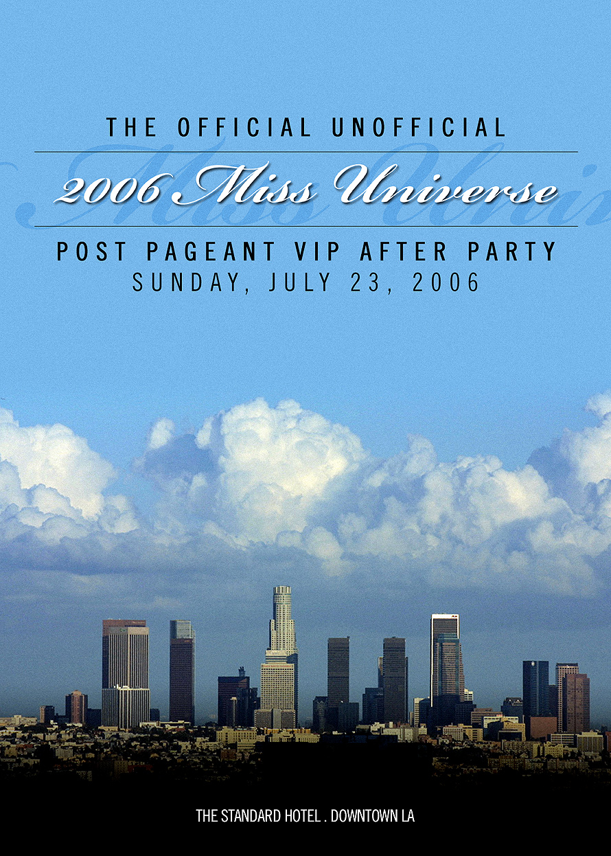 Rooftop Bar Post Pageant Afterparty
