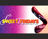 Sweet Fridays How Many Licks Does it Take? - tagged with red lips