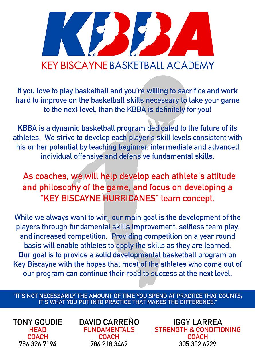 Key Biscayne Basketball Academy