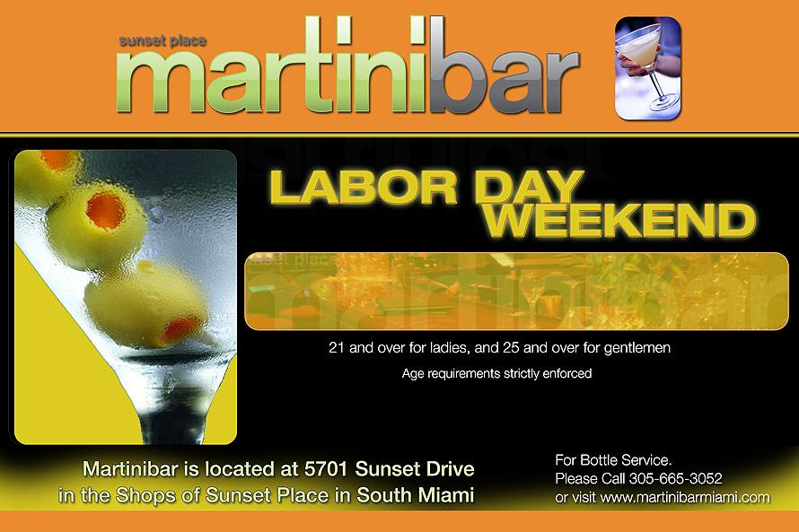 Sunset Place Martini Bar