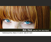 Rik Rak Salon - Beauty Graphic Designs