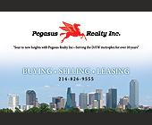 Pegasus Realty Inc. - Dallas Graphic Designs