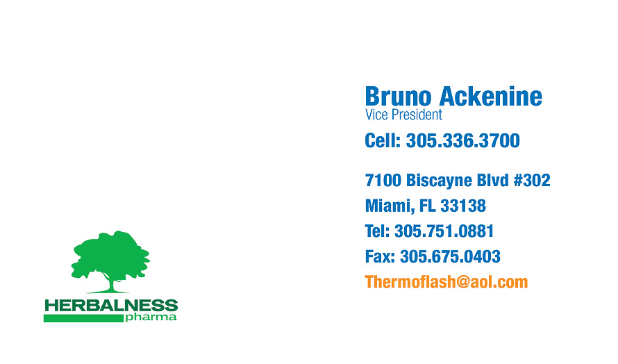 Thermo Flash Business Card