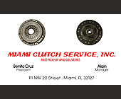 Miami Clutch Service, Inc - tagged with president