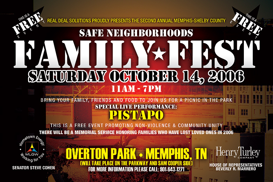 Family Fest Events at Overton Part