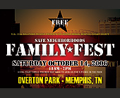 Family Fest Events at Overton Part - Tennessee Graphic Designs