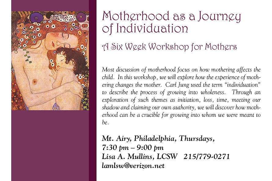 Motherhood as a Journey of Individuation