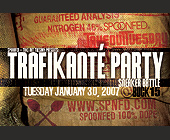 Traficante Party Sneaker Battle - Party Graphic Designs