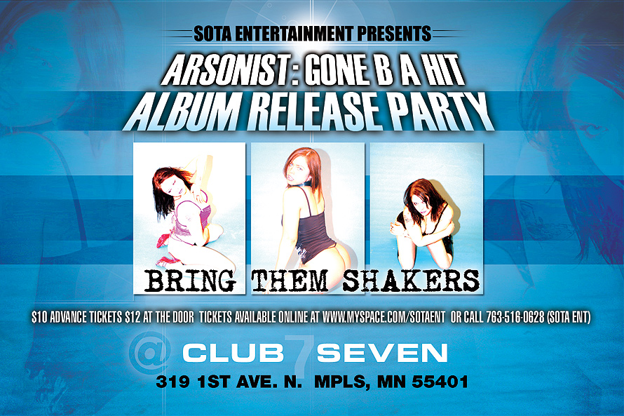 Album Release Party at Club Seven