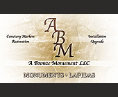 A Bronze Monument, LLC. - Professional Services